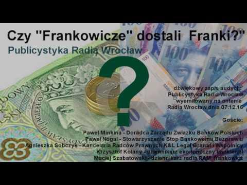 """Czy """"Frankowicze""""  naprawdę dostali Franki? - Analiza debaty w Radiu Wrocław"""