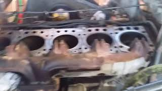 Mercedes MBE 4000 head gasket replacement  om 460 om460