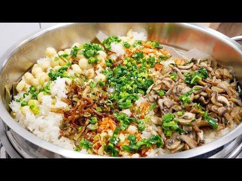Xôi Cấp Tốc - Xôi Chay - Bí quyết nấu Xôi mặn chay thập cẩm dẻo mềm tuyệt vời by Vanh Khuyen