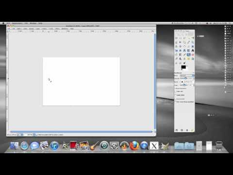 How To Draw A Straight Line In GIMP Photo Editing Program