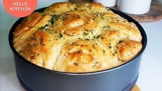 ДОМАШНИЙ ХЛЕБ В ДУХОВКЕ Как испечь чесночный хлеб Простой рецепт
