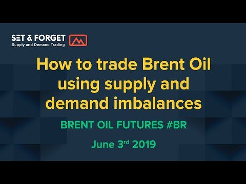 How to trade Brent Crude Oil Futures using a supply and demand strategy