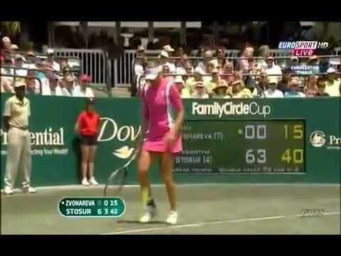 Vera Zvonareva - the most beautiful racket smashing ever - original