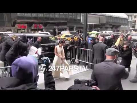 (New) Kim Kardashian Arrives Cipriani for Women of Power Lunch in NYC