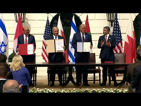 Trump Presides Over Historic Peace Deal Between Israel, UAE And Bahrain