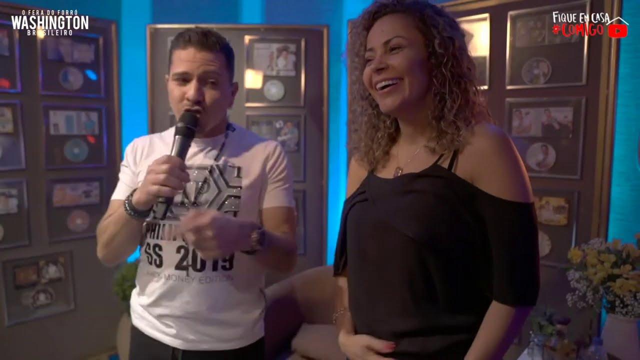 Washington Brasileiro LIVE 5 |  #FiqueEmCasa e Cante #Comigo ♫