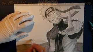 Naruto speed drawing / Mark VI vp