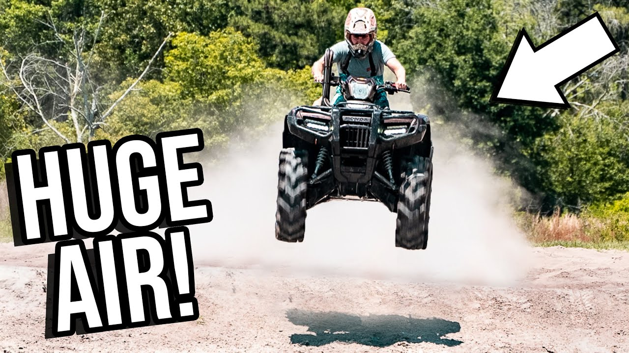 Absolutely SENDING The HONDA RUBICON! *Almost LOST IT*