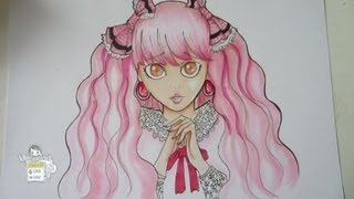 Drawing Sweet Lolita Girl
