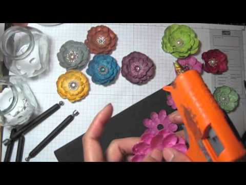 Diyeasy to make paper flowers tutorial by sacrafters youtube mightylinksfo