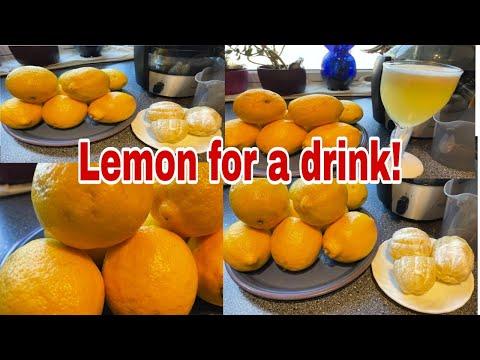 How to make fresh lemon drink?