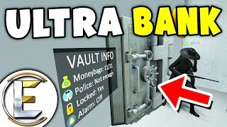 Ultra Bank Robbery - Gmod DarkRP (High Security Bank Plan And A Team Of Professionals)