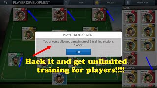 Get unlimited training in DLS 16 to speed up all your players to 100 !!
