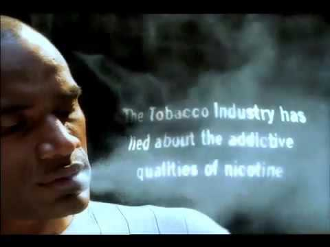 "California Department of Health Services - ""Slave to cigarettes"""