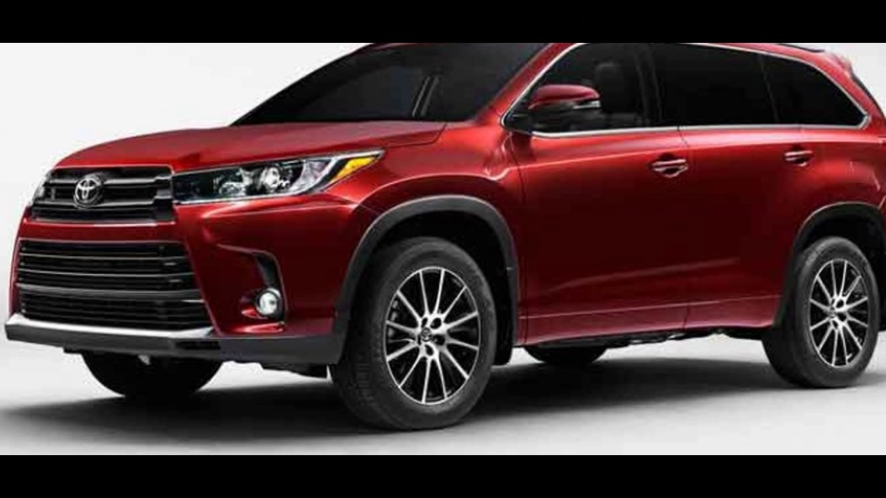 the new 2018 toyota highlander hybrid youtube. Black Bedroom Furniture Sets. Home Design Ideas