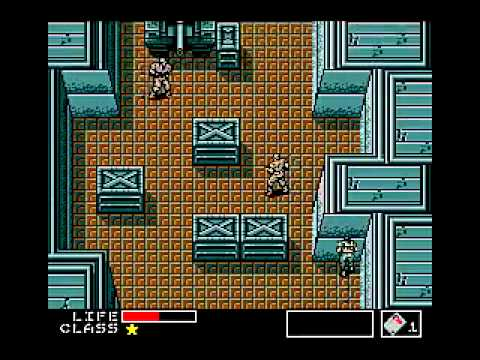 MSX2 Let39s Play Metal Gear Konami 1987 Part 1 YouTube