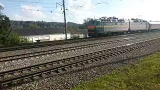 ЧС8-045 с поездом 018Б Ницца — Москва(, 2016-08-23T13:41:22.000Z)