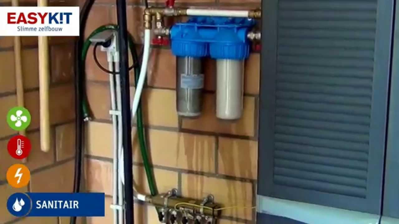 Verwonderend Zelf je regenwaterfilters vervangen. Zelfbouwpakket regenwater met GR-45