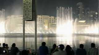 Dubai Fountain [Song Amwaj (Waves)]