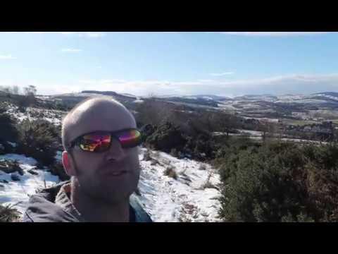 A Walk 👣 To The Hills  ( Eildons )  Scottish Borders 2018