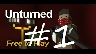 Let's Play Unturned 3.10.2.0 Episode 1 : Pirate Cave!
