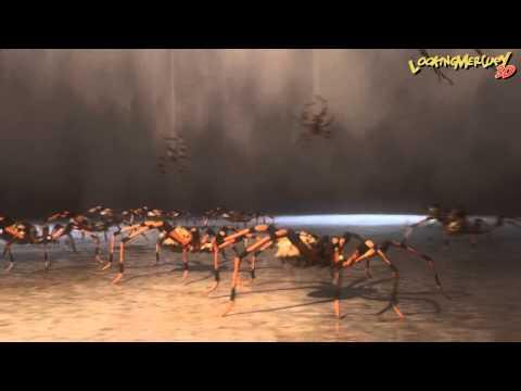 Arachnids Nightmare - 3D LightWave 11.6