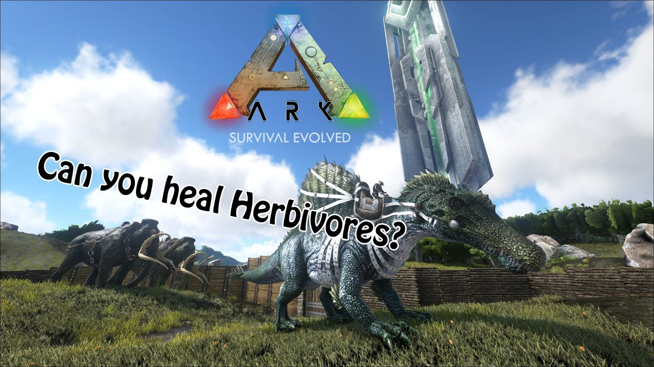 Healing Herbivores Outdated Youtube The daeodon (hell pig) is a new creature in ark that can be found in the cold regions of the island. healing herbivores outdated