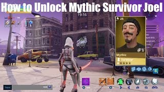 Fortnite Save the World - How to Find Joel's Pub & Unlock Mythic Survivor Joel!