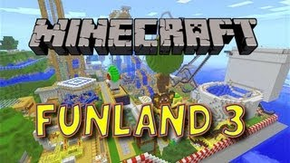 Découverte de map Minecraft 1.5.2: FunLand 3 - Un Parc d'attraction FUN! [+LIEN] (Partie 1)