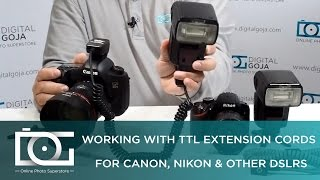 FLASH SYNC CORD TUTORIAL | Use TTL Extension Sync Cords to Keep a Camera's TTL Capability