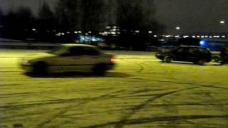 Ice drift and 360 BMW320 E36 (winter 2008)