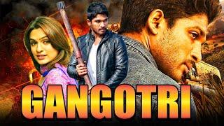 Allu Arjun Superhit Telugu Action Hindi Dubbed Full Movie 'Gangotri' | Aditi Agarwal, Prakash Raj