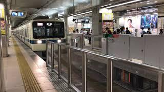 2018年 9月20日 小田急新宿駅 小田急8000形 入線
