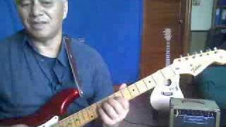 A Blues Scale Guitar Lesson Chordal Notes 5p