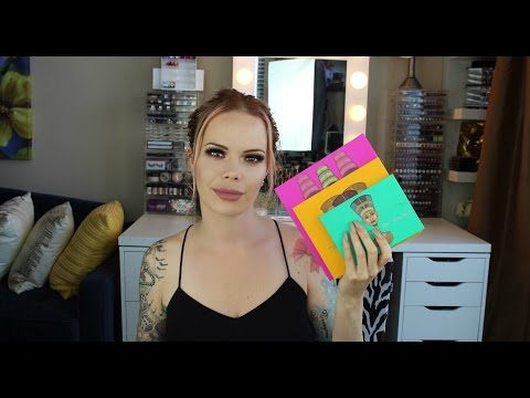 Juvia's Place Review | All 3 Palettes | Nubian, Nubian 2 & Masquerade Swatches