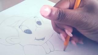 How to draw: Richie Rich (Richest Boy in the World)