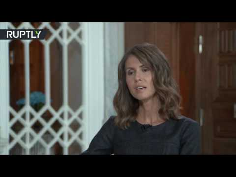 Western media focus on tragedies that suit their agenda – Assad's wife Asma in rare interview