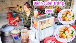 Quán bánh cuốn trứng, bánh ướt 20k bán từ sáng tới khuya ở Sài Gòn | Saigon Travel