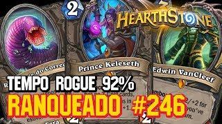 TEMPO ROGUE 92% WIN RATE (11/1) - RANQUEADO PADRÃO - HEARTHSTONE