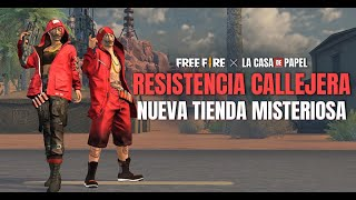 ¡¡TIENDA MISTERIOSA DE LA CASA DE PAPEL!! 💥👀 | Garena Free Fire