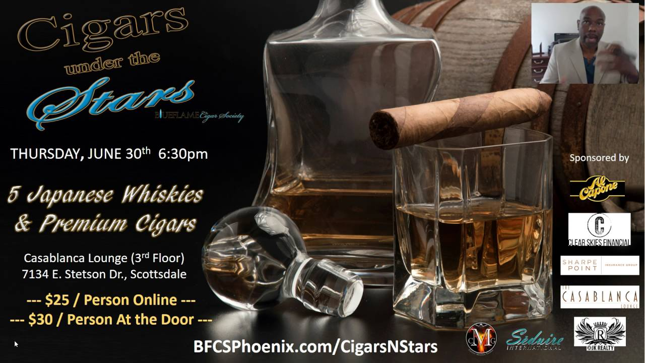 CIGARS UNDER THE STARS JAPANESE WHISKY AND CIGAR TASTING YouTube