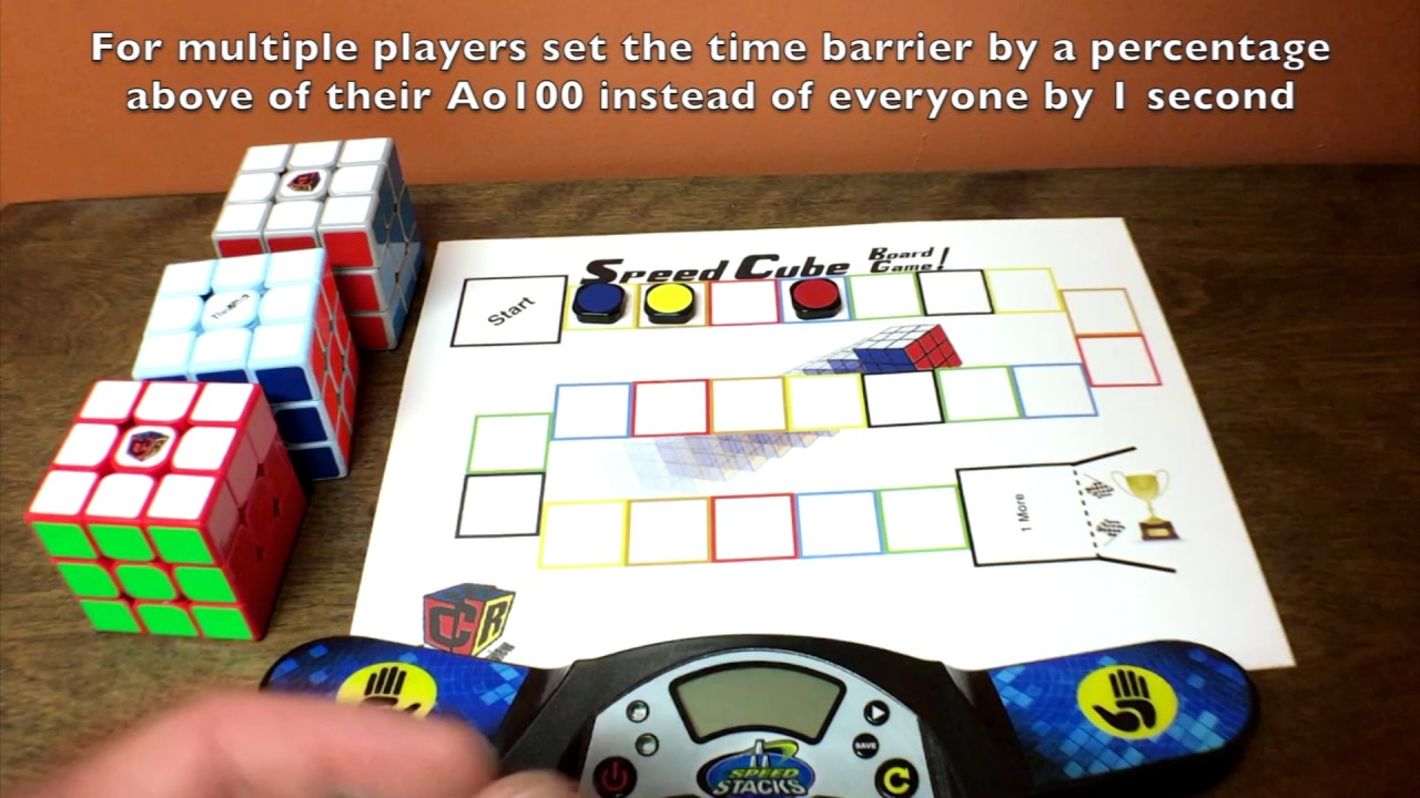 how to play the cube board game