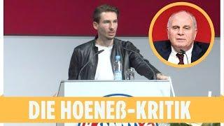 Die Hoeneß-Kritik bei der Bayern-Hauptversammlung