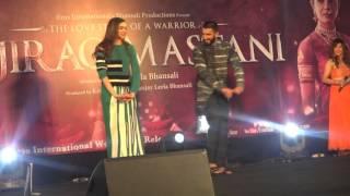 Ranveer Singh and Deepika Padukone funny dance competition | Bajirao Mastani