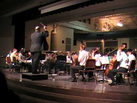 Kellogg Combined Orchestra 03/17/2010 Tryptich for Strings by Elliot A Del Borgo
