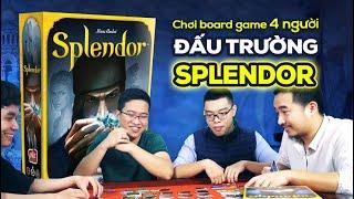 [Board Game VN] [Splendor #2] Cùng chơi ngay Splendor với 4 người !!