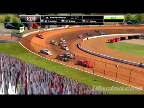 Incredible finish to the VLR Modified series finale at Lanier!