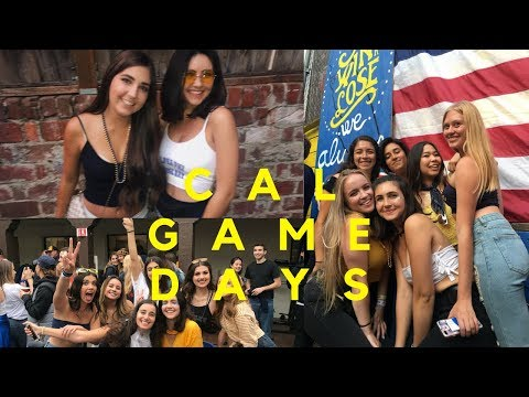 UC Berkeley Football Game Days