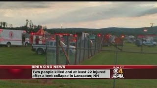 2 Killed In Circus Tent Collapse In NH