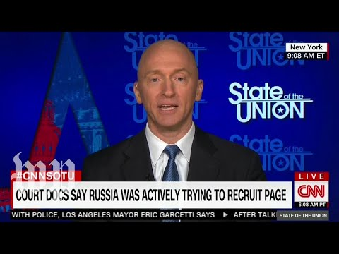Carter Page denies being a Russian agent following release of redacted FISA warrant